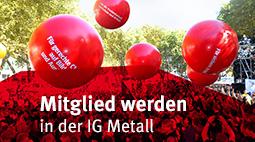 Online Mitglied werden in der IG Metall